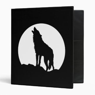 Howling wolf moon black Avery binder