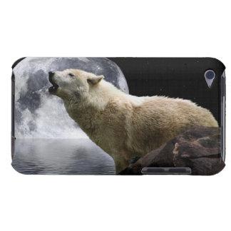 Howling Wolf Moon Wild Animal iPod Case