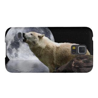 Howling Wolf Moon Wild Animal Samsung Case