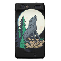 Howling Wolf Motorola Droid RAZR Cases