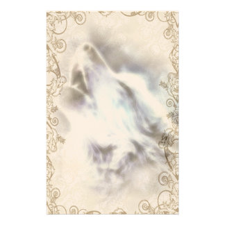 Howling Wolf Native American Stationery