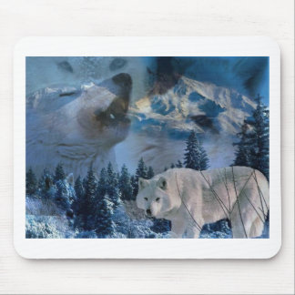 Howling Wolf Pack Mouse Pad