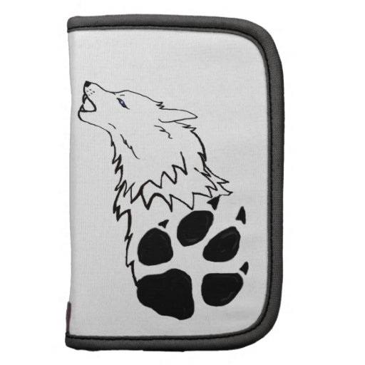 Howling Wolf print Folio Planners