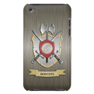 Howling Wolf Sigil Battle Crest Armor iPod Case-Mate Cases