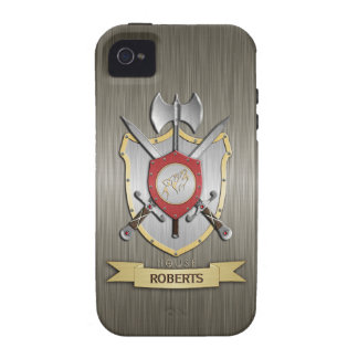 Howling Wolf Sigil Battle Crest Armor Vibe iPhone 4 Case