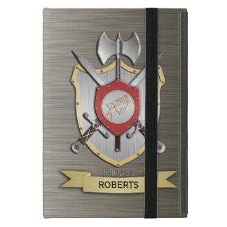 Howling Wolf Sigil Battle Crest Armor iPad Mini Covers