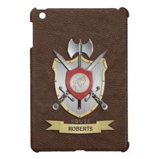 Howling Wolf Sigil Battle Crest Brown iPad Mini Cases