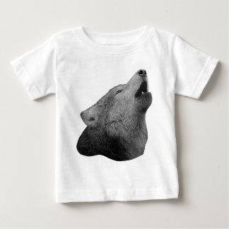Howling Wolf - Stylized Image Baby T-Shirt