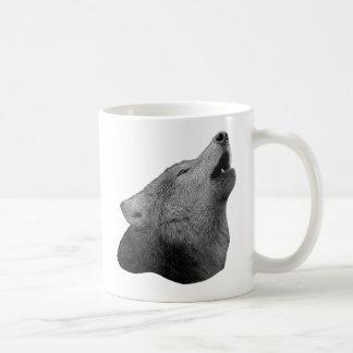 Howling Wolf - Stylized Image Coffee Mug