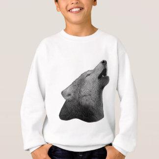 Howling Wolf - Stylized Image Sweatshirt