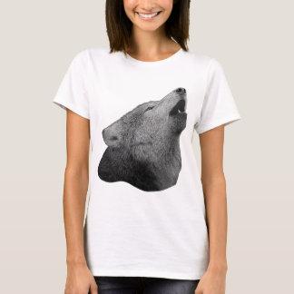 Howling Wolf - Stylized Image T-Shirt