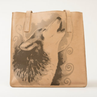 Howling Wolf Tote
