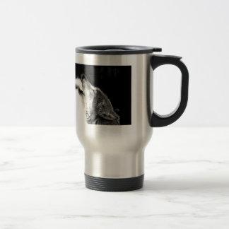 Howling Wolf Travel Mugs