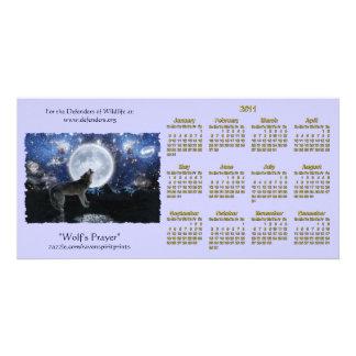 Howling Wolf Wildlife 2011 Pocket Calendars Card