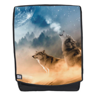 Howling Wolfes Foto Backpack