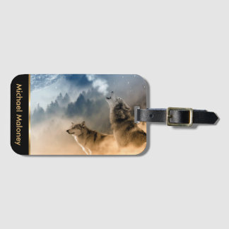 Howling Wolfes Foto Bag Tag