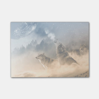 Howling Wolfes Post-it Notes