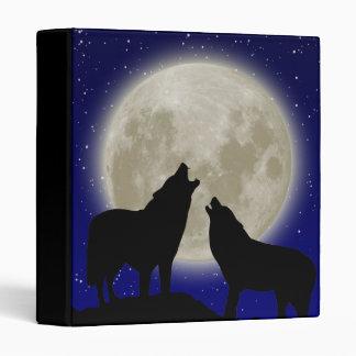 Howling Wolves Binder