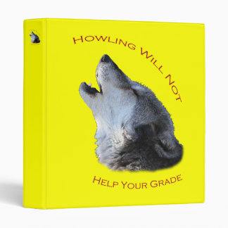 Howling...Your Grade 3 Ring Binders