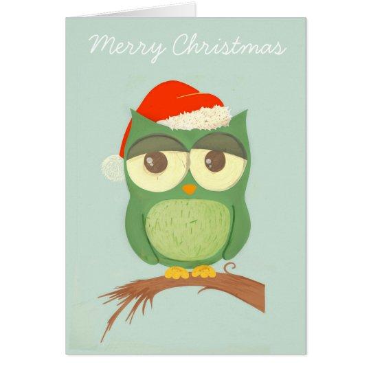 HOwly Christmas! Card