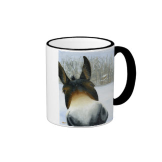 How's About A Kiss? Ringer Coffee Mug