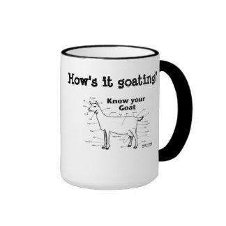 How's it Goating? Mugs