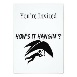 How's It Hangin Hang Glider Custom Announcement