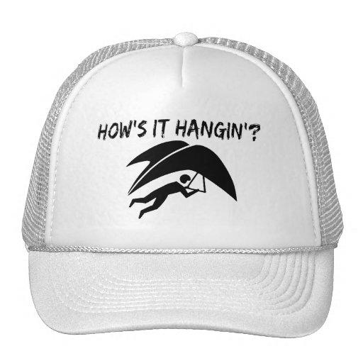 How's It Hangin Hang Glider Trucker Hat
