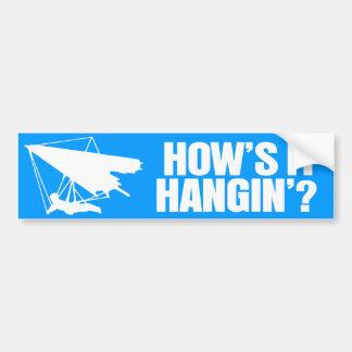 How's it Hanging? Car Bumper Sticker