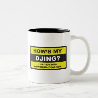 Hows My Dancing Two-Tone Coffee Mug