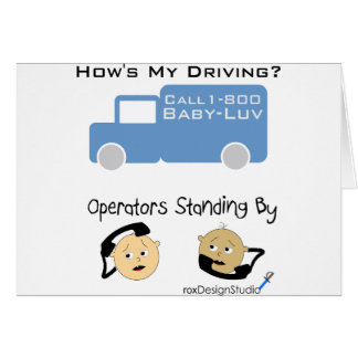 How's My Driving Card