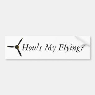 Hows My Driving Bumper Stickers Car Stickers Zazzle
