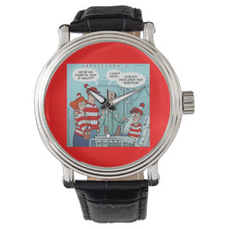 Hows The Hospital Patient Funny Unisex Watch