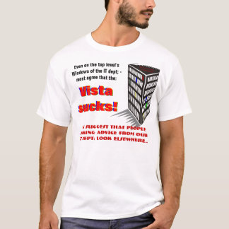 How's the vista from your vantage point? T-Shirt