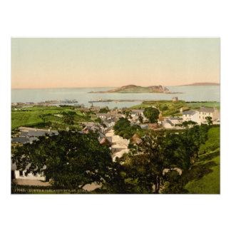 Howth and Ireland's Eye Archival Print
