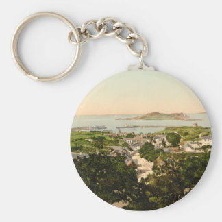 Howth and Ireland's Eye Keychain