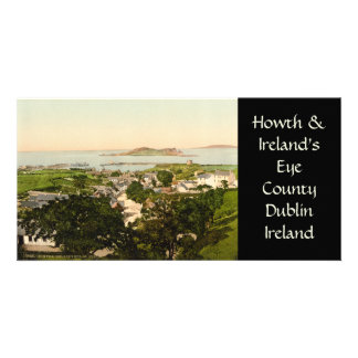 Howth and Ireland's Eye Photo Card