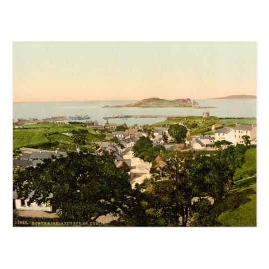Howth and Ireland's Eye Postcard