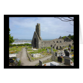 Howth Church Ruins Card