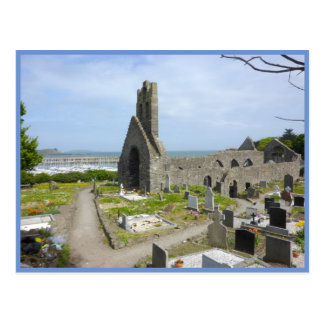 Howth Church Ruins Postcard