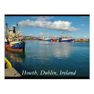 Howth, Dublin, Ireland Postcard