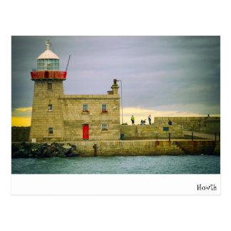 Howth/Irlanda Tarjeta Postal
