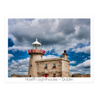 Howth Lighthouse Postcard