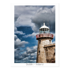 Howth Lighthouse Postcard at Zazzle