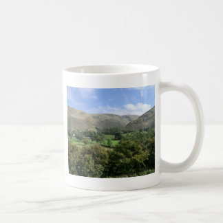 Howtown and Barton Fell in Cumbria Classic White Coffee Mug