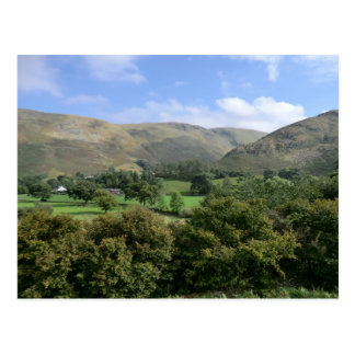 Howtown and Barton Fell in Cumbria Postcard
