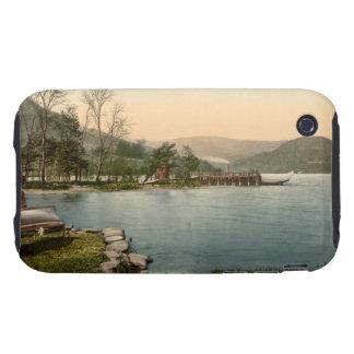 Howtown Pier, Lake District, Cumbria, England iPhone 3 Tough Cases