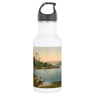 Howtown Pier, Lake District, Cumbria, England 18oz Water Bottle