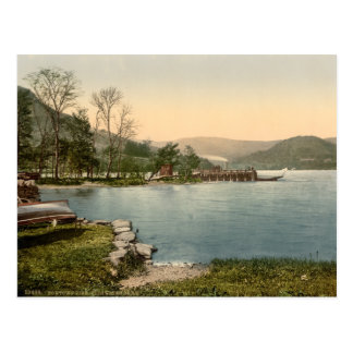 Howtown Pier, Lake District, Cumbria, England Postcard
