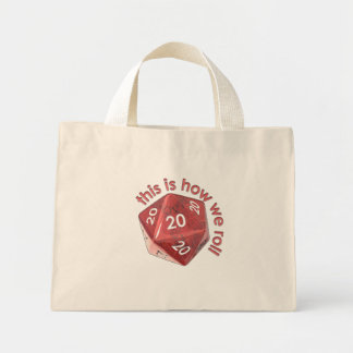 HowWeRoll20s Mini Tote Bag